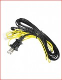 Validator power cord for amusement applications