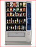 New Crane National Vendors Merchant 6 Combination Snack/Bottled Machine - 6 Trays