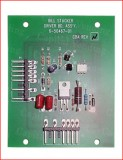 Rowe stacker board and driver assembly