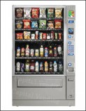 Crane National Vendors Refurbished Combination Snack/Bottled Machine - Model 449
