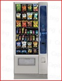 New Crane National Merchant 4 Media Snack Machine - 28 selections