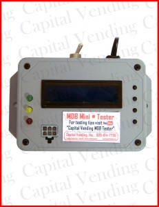 MDB Tester for Bill Validators and Coin Changers
