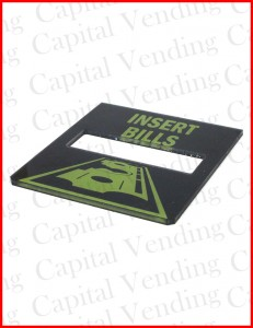 "National Vendors 147 Validator Mounting Plate for Mars MEI Upstacker Validators with ""0"" VFM Mask"