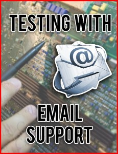 Part Testing with Email Support